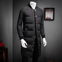 High quality winter jacket men fashion designer slim fit parka men plus size white duck down.jpg 250x250