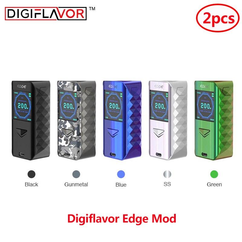 2 pièces numériseur Edge Mod avancé comme chipset et rapide sans fil charge mod Cigarette électronique Vape vaporisateur vs glisser 2 glisser mod