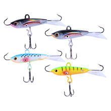 4Pc Fishing Lure Life-like Flexible Bait Hooks Baits Fishing Tackle Tool for Walleye(China)