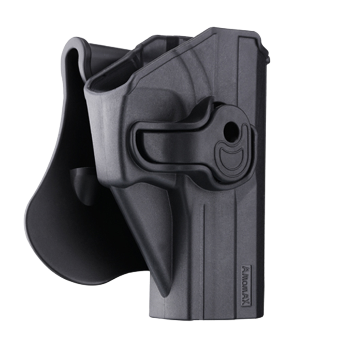 Amomax Adjustable Tactical Hunting Holster for KWA/Umarex USP Full Size and USP Compact Airsoft Outdoor Shooting - Right-handed