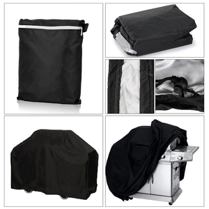 Image 4 - BBQ Cover Waterproof BBQ Accessories Anti Dust Rain Gas Cover Electric Barbeque Grill Cover Portable Outdoor BBQ Cover Plus Size