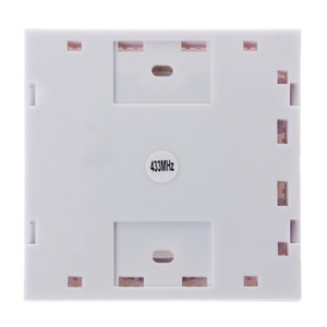 Image 4 - 433Mhz RF Wireless Remote Control Switch 86 Wall Panel Transmitter With 1 2 3 4 Button Hall Bedroom Ceiling Wall Light