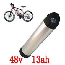 48V 13Ah  housing Li-ion Water Kettle water bottle Battery bike battery 250W 500W 750W 960W with charger+BMS us eu no tax 48v 13ah 750w lithium ion bottle ebike battery pack with charger fit bafang bbs02 750w with 20a bms and 2a charger