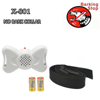 Free Shipping Dog Training Collar Pet 801 Vibration And Sound Anti Bark Collar For Small Dog