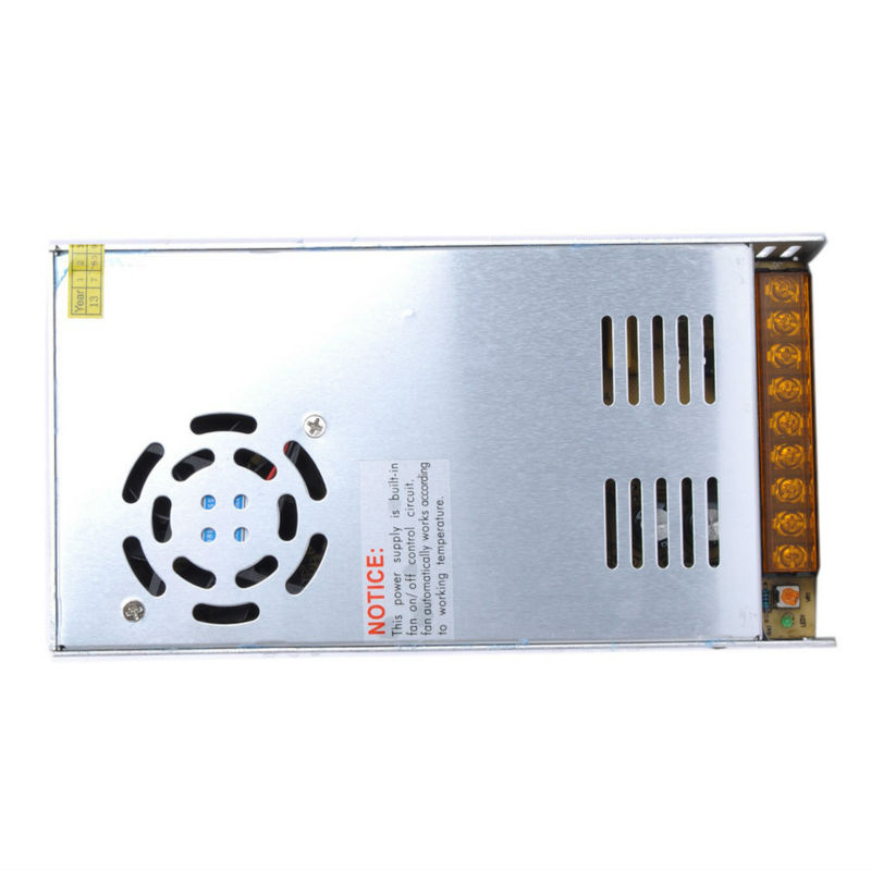 купить Metal case type 400 watt 5 volt 80 amp AC/DC switching power supply 400W 5V 80A AC/DC switching industrial transformer по цене 5439.12 рублей