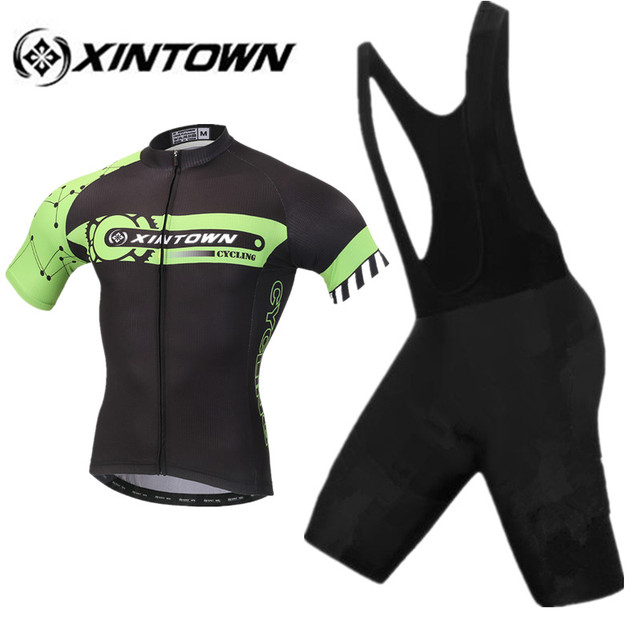 XINTOWN Cycling Jersey Set 2018 New Men s Summer Short Sleeve MTB Bike  Bicycle City Road Ridding Clothing Shirt Shorts Suit 6d420a9c1