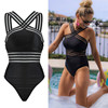 One Piece Swimsuit Women Plus Size Monokini Swimwear Swimsuit Beach Swimming Costume Bikini Bathing Swimming Suit For Women
