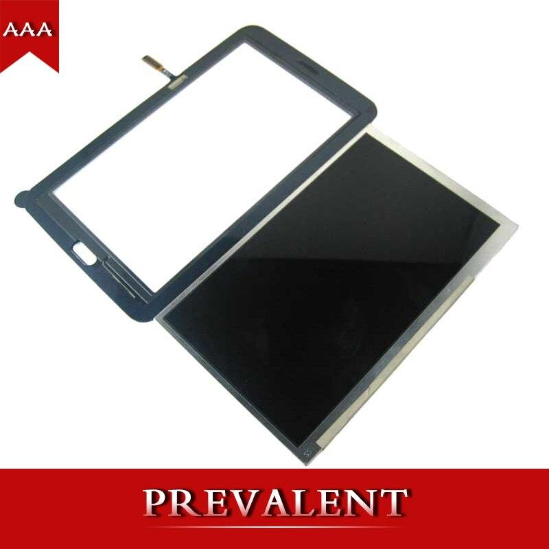 Pour Samsung Galaxy Tab 3 Lite 7.0 T110 SM-T110 LCD Moniteur à Écran Module + Écran Tactile Digitizer Capteur En Verre
