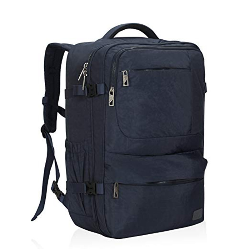 Waterproof <font><b>Backpacks</b></font> Uinsex Flight Approved Compression Travel Laptop <font><b>Backpack</b></font> Luggage Bag Casual Daypacks <font><b>44L</b></font> Carry On <font><b>Backpack</b></font> image