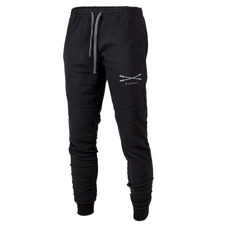 Automne hiver Hommes Survêtement de Remise En Forme mâle gymnases entraînement de Musculation coton pantalon Casual mode sport Marque Crayon pantalon