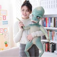WYZHY Alien doll plush toy bedside ornaments to send friends and children gifts in three colors 100CM