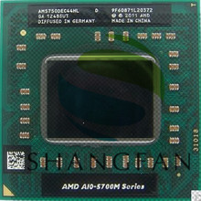 AMD laptop  A10 5750M A10-5750m AM5750DEC44HL Socket FS1 CPU 4M Cache/2.5GHz/Quad-Core  processor GM45/PM45