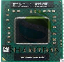 Versand Für AMD laptop A10 5750 Mt A10-5750m AM5750DEC44HL Sockel FS1 CPU 4 Mt Cache/2,5 GHz/Quad-Core prozessor GM45/PM45