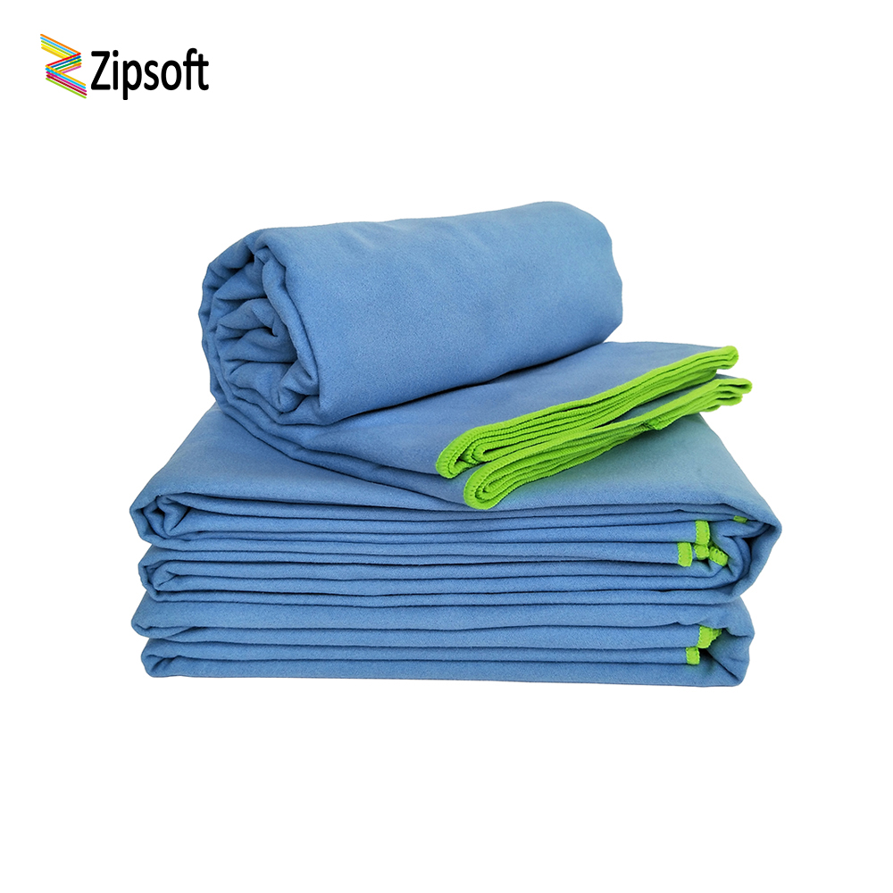 Zipsoft Ultralight Compact Quick Drying Towel Microfiber Antibacterial Camping Hiking Hand Face Towel Outdoor Travel Kits 2019