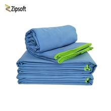 Zipsoft Ultralight Compact Quick Drying Towel Microfiber Antibacterial Camping Hiking Hand