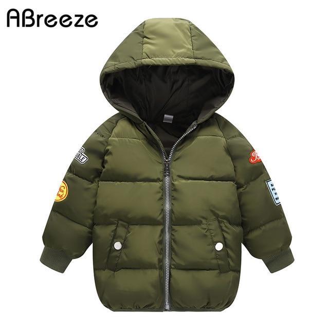 98c11fd67 2018 winter style children outerwear   coats 2 7Y kids long down ...