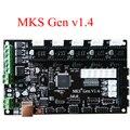 PCB ПЛАТЫ контроллера МКС Gen V1.4 интегрированы плата совместимость Ramps1.4/Mega2560 R3 поддержка a4988/DRV8825/TMC2100