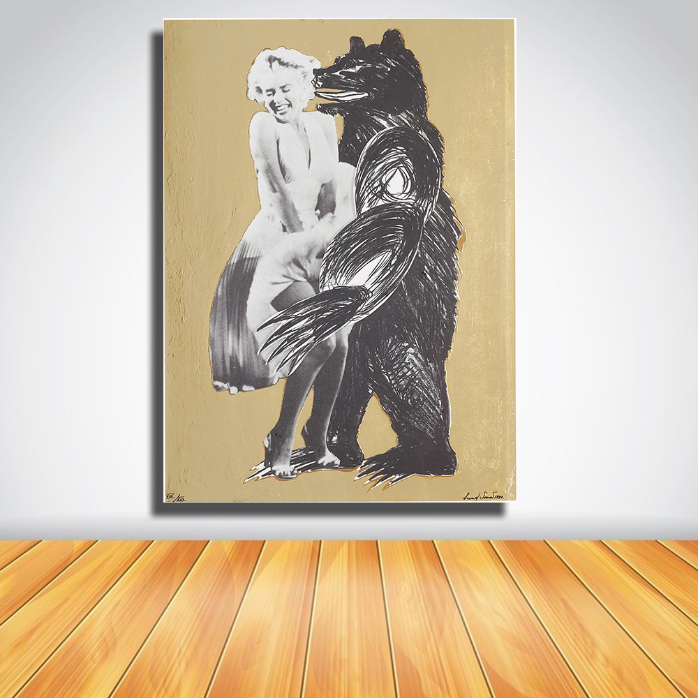 Fine Marilyn Monroe Black And White Wall Art Photos - The Wall Art ...