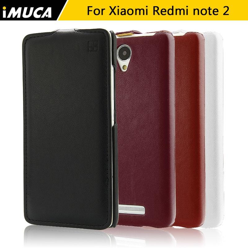 Xiaomi redmi note 2 case cubierta de cuero del tirón casos capa coque xiaomi red