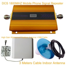 Signal Repeater Cell Phone Signal Amplifier with Antenna  LCD 4G LTE GSM DCS 1800MHZ Mobile Phone Signal Repeater Booster