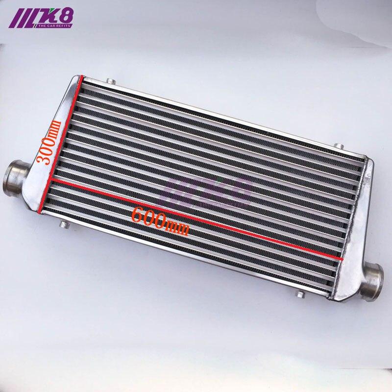 600*300*76mm universel Turbo Intercooler barre et plaque OD = 76mm avant montage intercooler