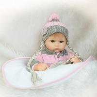 NPKCOLLECTION Realistic Newborn Reborn Baby Doll Gifts For Children Soft Good For Birthday Present And Children