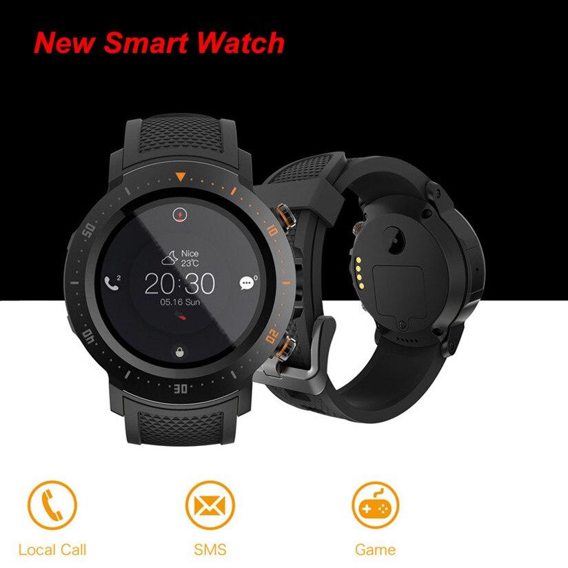 2019 Nouveau A4 4G 530 mAh 1 + 16 GB Étanche De Luxe Intelligent Montres Sport GPS Montre Téléphone Podomètre smartwatch Pour MI8 IOS Android