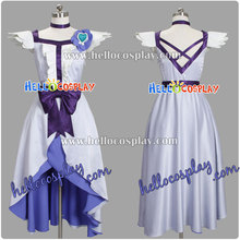 Heartcatch anvulkanisierten cosplay yuri tsukikage/cure moonlight dress h008(China)