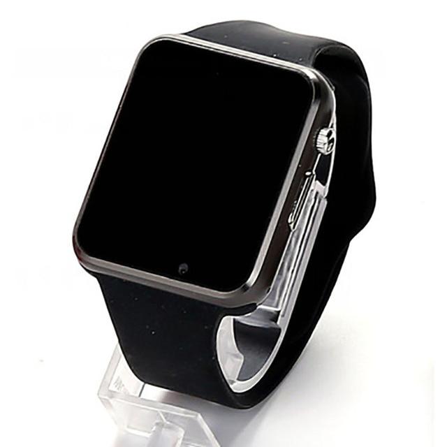 A1 SIM Relógio Inteligente Relógios Smartwatches Telefone Câmera Pedômetro Monitor de Sono SMS Chamada de Lembrete Para Android