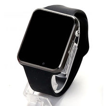 A1 Smart Watch SIM Watches Phone Camera Smartwatches Pedometer Sleep Monitor SMS Call Reminder For Android(China)