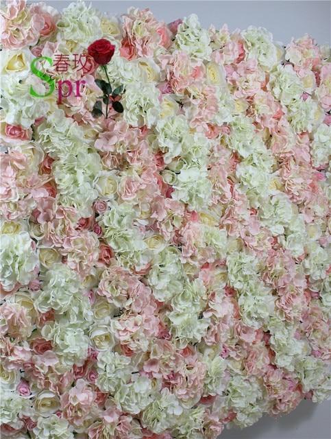 spr mix light pink champagne series artificial rose wedding flower