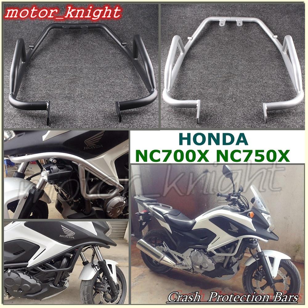 Honda Motorcycle With Fit Engine: Crash Protection Bars Engine Guard Fit Honda NC700X/NC750X