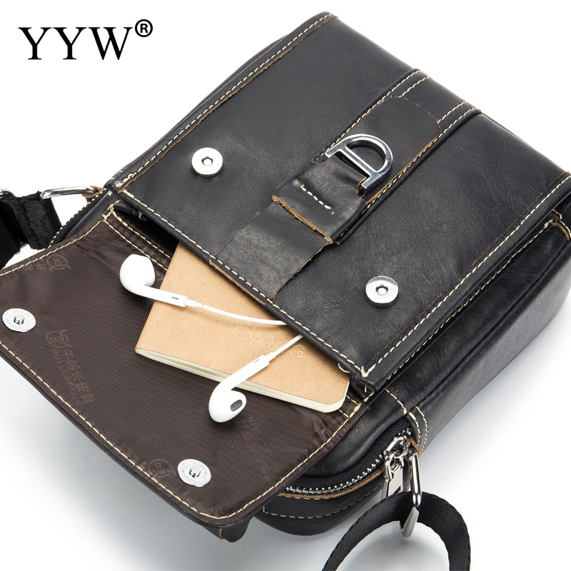 BULL CAPTAIN Fashion Black Crossbody Bag Multifunction Chest Bag Pack Messenger Bag Male Shoulder Bags Coffee Business Leather BULL CAPTAIN Fashion Black Crossbody Bag Multifunction Chest Bag Pack Messenger Bag Male Shoulder Bags Coffee Business Leather