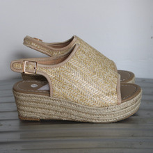 купить 2019 New Platform Sandals Wedges Shoes For Women Heels Sandalias Mujer Women Lace Up Gladiator Sandals Summer Beach Shoes Woman онлайн