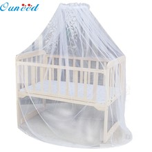 Ouneed Factory Price high quality Hot Selling Baby Bed Mosquito Mesh Dome Curtain Net for Toddler Crib Cot Canopy Aug26(China)