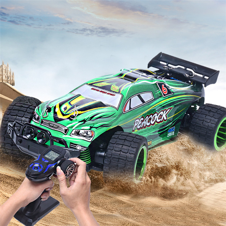 high quality855 126 24g four wheel drive high speed off road remote control car gift for kids toy wholesale free shipping