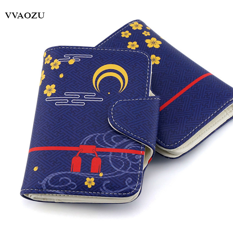 Anime Touken Ranbu Online Short Wallet Kashuukiyomitsu Kashuuki Yomitsu PU ID Credit Card Holder Notecase Portefeuille toukenranbu tsurumaru kuninaga cosplay shoes touken ranbu anime boots