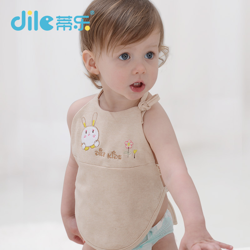 Dile cotton baby bibs winter warm funny infant nursing bellyband stomachers boy accessories burp clothes 0-3months