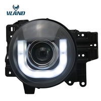 VLAND For China Head Lamp For Toyota Fj Cruiser 2007 2010 2012 2016 LED Headlight DRL H7 Xenon Lamp Plug And Play Design