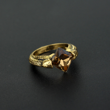 MQCHUN Horcrux Resurrection Stone Ring Deathly Hallows Rings Wizarding World Noble Cosplay Movie Jewelry