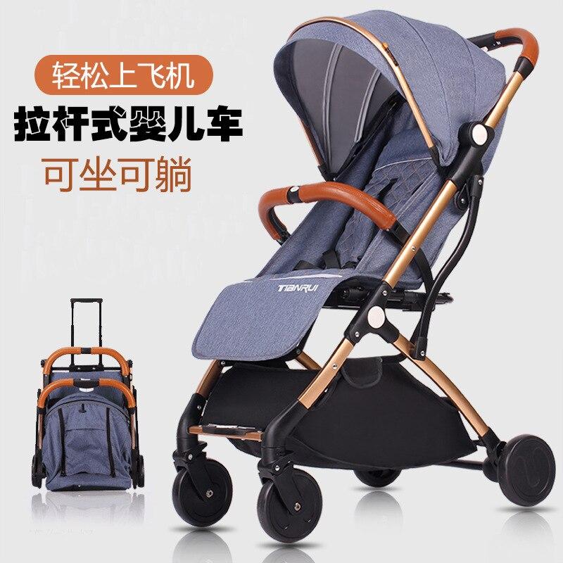 baby stroller folding light shock absorbers child four wheel bb baby perambulator  Комедон