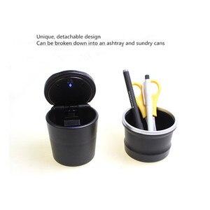 Cenicero portátil con lámpara LED para coche citroën c2 c4 c4l c3 c5 berlingo, accesorios