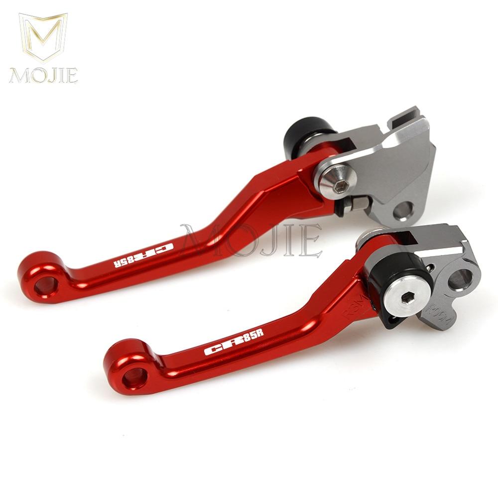 1 Pair CNC Brake Clutch Levers For Honda CR80R 85R CRF150R CR125R CR250R CRF450R