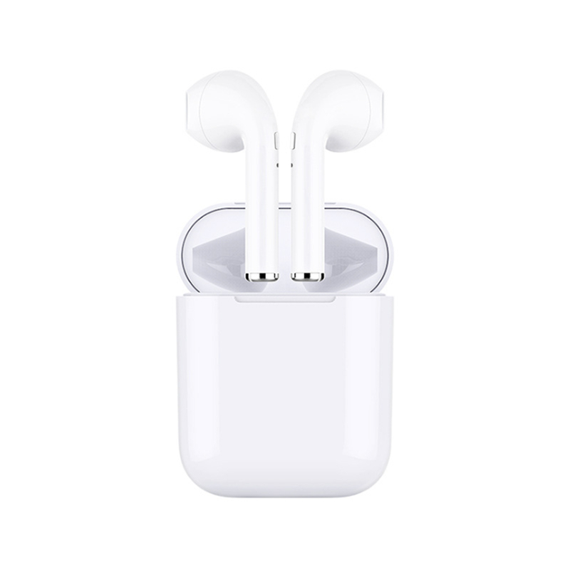 New i7S Mini Bluetooth Earphones Super Clear Stereo Bass Wireless Headset Earbuds with Mic Charging Box for All Smart phone     (China)