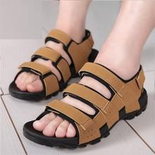 Summer Beach font b Sandals b font Men Sandalias Vietnamese Shoe Fashion Outdoor Casual Open Toe