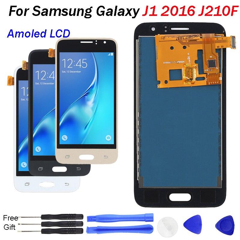 J120F LCD Amoled nouveau pour Samsung Galaxy J1 2016 J120 J120A J120F J120M J120FN écran tactile numériseur AMOLED écran LCD