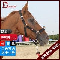 Equestrian Horse Horse Cage Bridle Textile Equipment Leading Horses