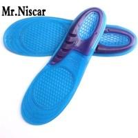 Mr.Niscar 1 Pair Sport Insole Gel Massaging Insole Plantar Heel Arch Support Orthopedic Plantar Fasciitis Silicone Insoles