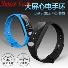 Smartch R11 Bluetooth Smart Браслет Водонепроницаемый активности Фитнес трекер сердечного ритма Мониторы Smart Браслет Группа для iOS и Android