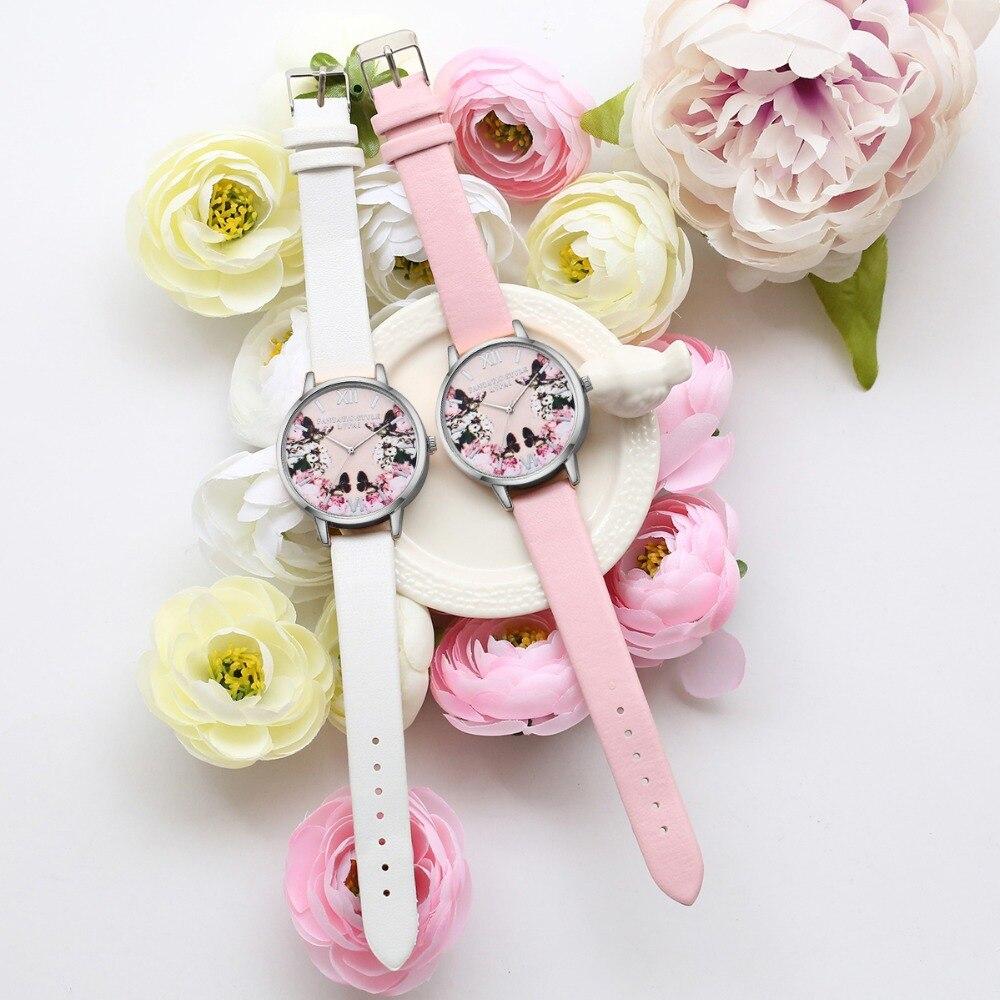 Lvpai luksusa ādas sieviešu kleita pulksteņi rokas pulkstenis - Sieviešu pulksteņi - Foto 3